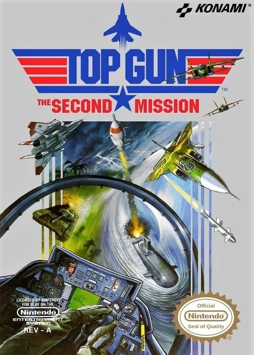 Top Gun: The Second Mission - Nintendo NES