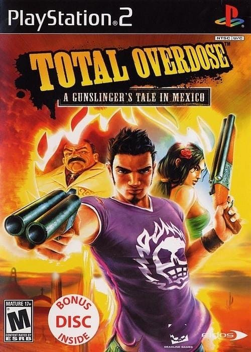 Total Overdose A Gunslinger's Tale in Mexico PlayStation 2 - Gandorion Games