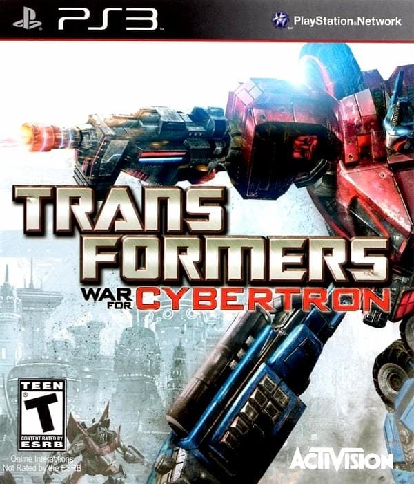 Transformers War for Cybertron PlayStation 3 - Gandorion Games