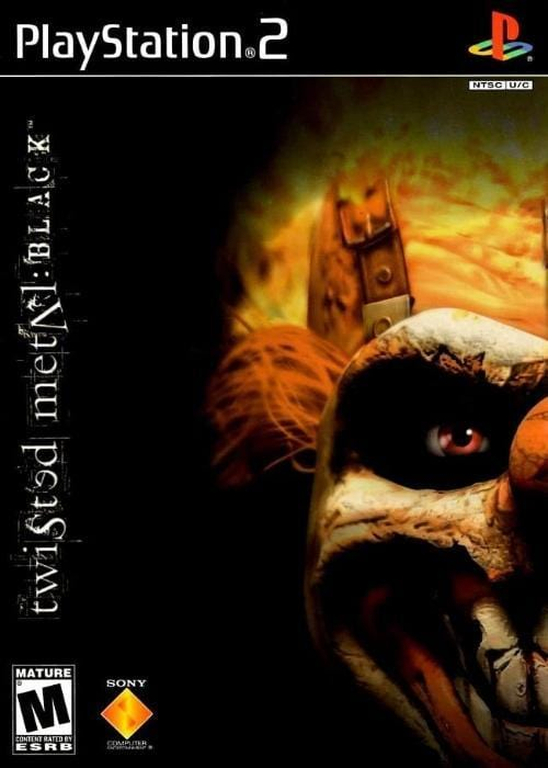 Twisted Metal Black Sony PlayStation 2 - Gandorion Games