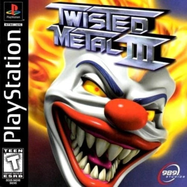 Twisted Metal III Sony PlayStation - Gandorion Games