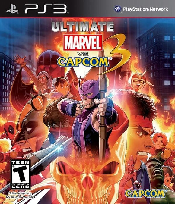 Ultimate Marvel vs Capcom 3 PlayStation 3 - Gandorion Games