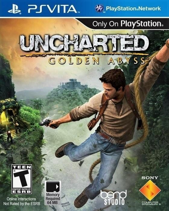 Uncharted Golden Abyss Sony PlayStation Vita - Gandorion Games