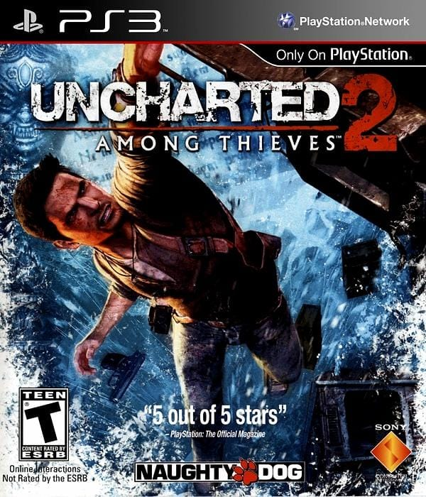 Uncharted 2 Among Thieves PlayStation 3 - Gandorion Games