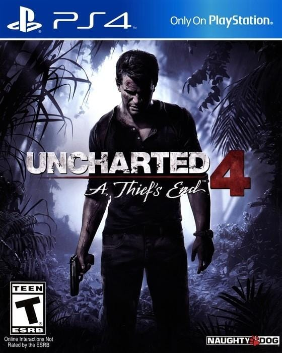 Uncharted 4 A Thief's End Sony PlayStation 4 - Gandorion Games