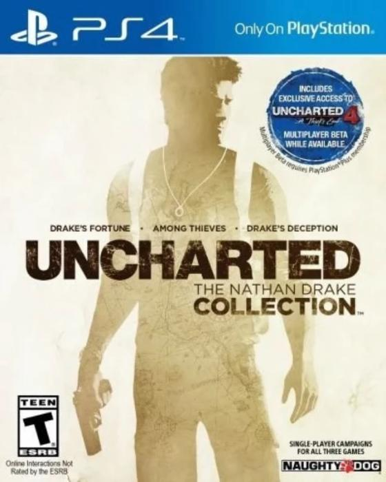 Uncharted: The Nathan Drake Collection Sony PlayStation 4 - Gandorion Games