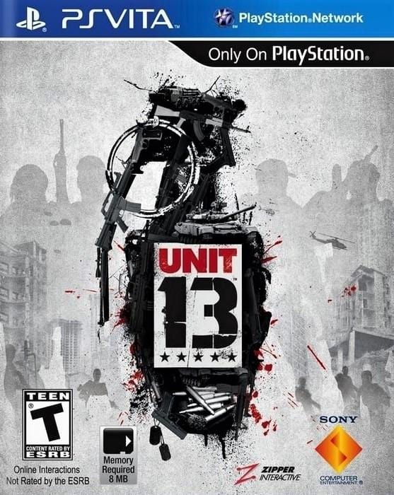 Unit 13 Sony PlayStation Vita - Gandorion Games