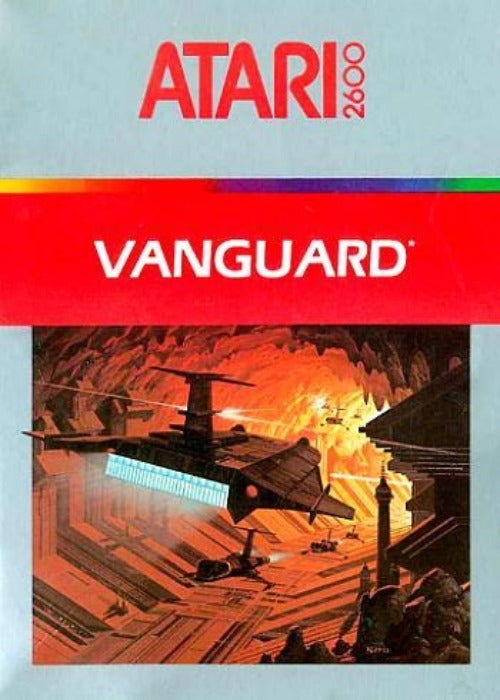 Vanguard Atari 2600 Game - Gandorion Games