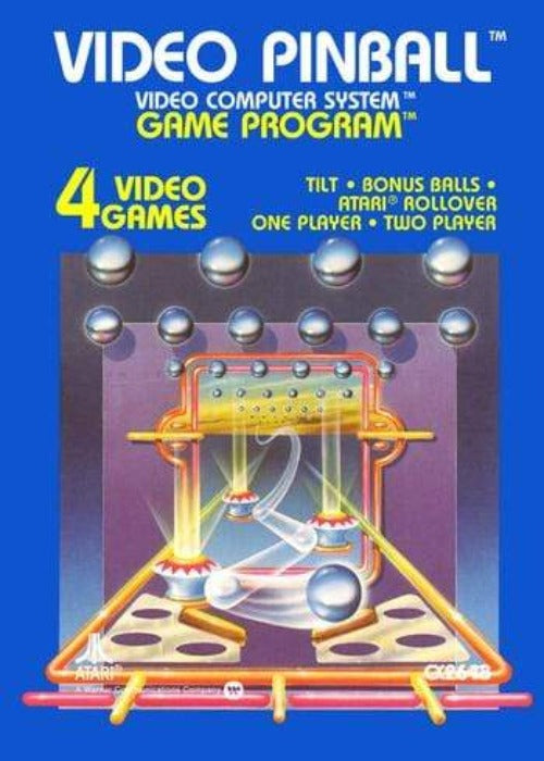 Video Pinball Atari 2600 Game - Gandorion Games