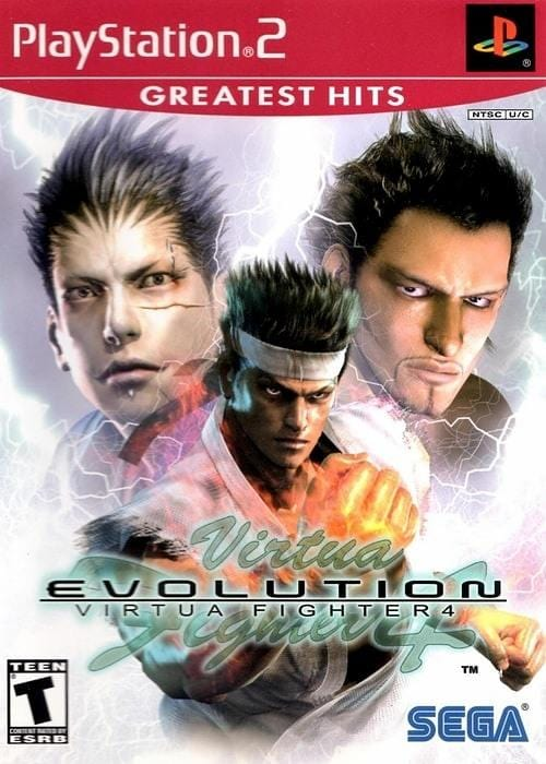 Virtua Fighter 4 Evolution - Sony PlayStation 2 - Gandorion Games