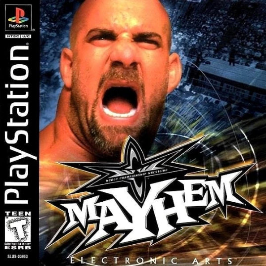 WCW Mayhem Sony PlayStation - Gandorion Games