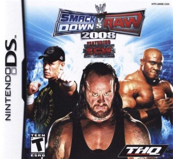 WWE SmackDown vs. Raw 2008 Nintendo DS Game - Gandorion Games