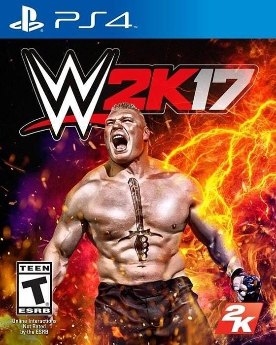 WWE 2K17 Sony PlayStation 4 - Gandorion Games