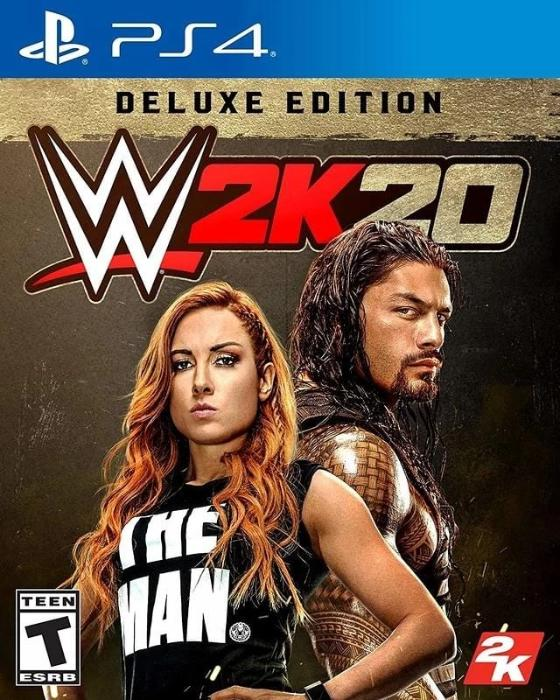 WWE 2K20 Deluxe Edition PlayStation 4 - Gandorion Games