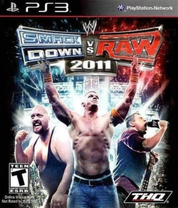 WWE SmackDown vs. Raw 2011 - Sony PlayStation 3