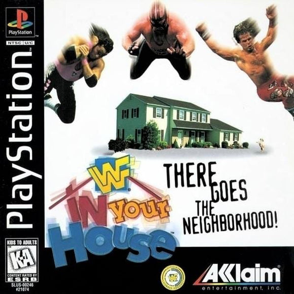 WWF In Your House Sony PlayStation - Gandorion Games