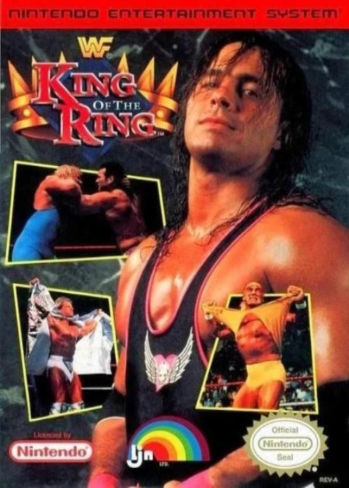 WWF King of the Ring Nintendo NES - Gandorion Games