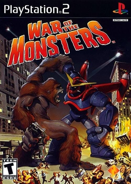 War of the Monsters Sony PlayStation 2 Game PS2 - Gandorion Games
