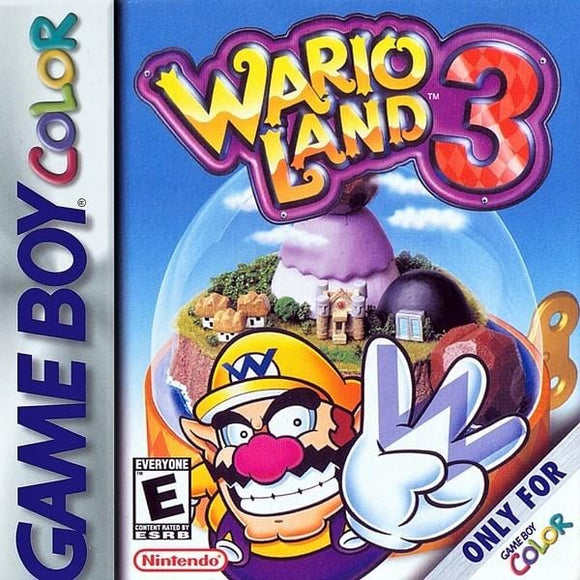 Wario Land 3 Nintendo Game Boy Color - Gandorion Games