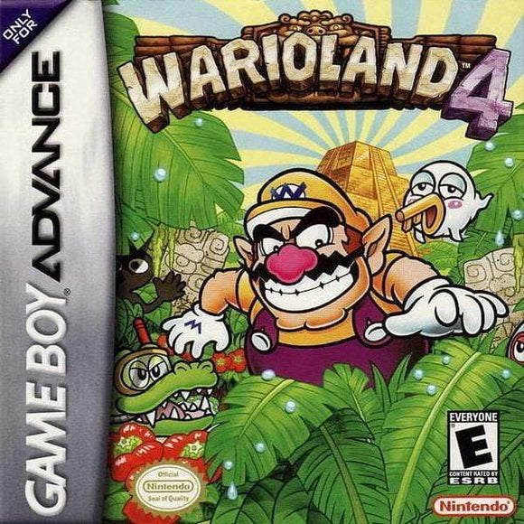 Wario Land 4 Game Boy Advance - Gandorion Games