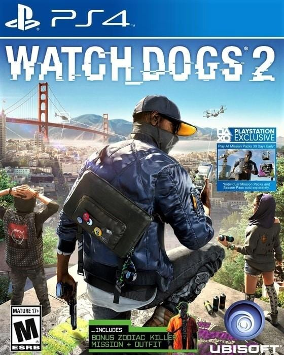 Watch Dogs 2 Sony PlayStation 4 - Gandorion Games