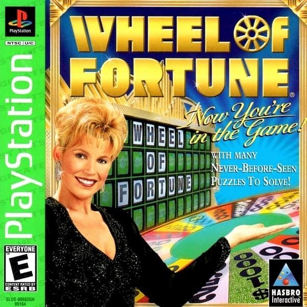 Wheel of Fortune PlayStation 1 - Gandorion Games