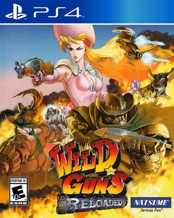 Wild Guns Reloaded Sony PlayStation 4 - Gandorion Games