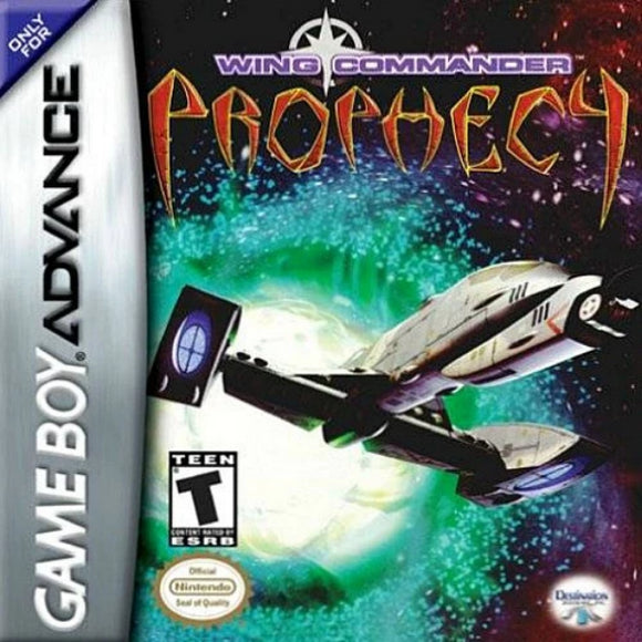 Wing Commander Prophecy Nintendo Game Boy Advance - Gandorion Games