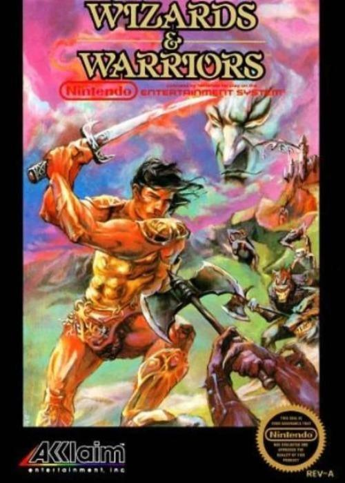 Wizards & Warriors Nintendo NES - Gandorion Games
