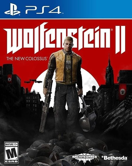 Wolfenstein II The New Colossus Sony PlayStation 4 - Gandorion Games