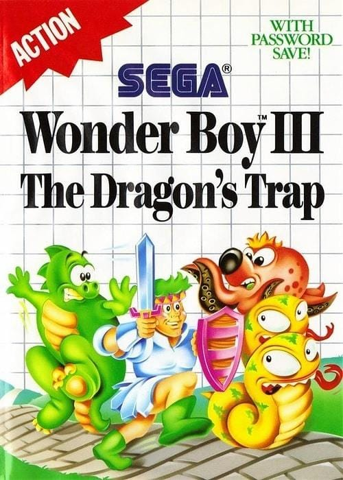 Wonder Boy III the Dragon's Trap Sega Master System - Gandorion Games