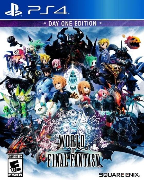 World of Final Fantasy Sony Playstation 4 - Gandorion Games