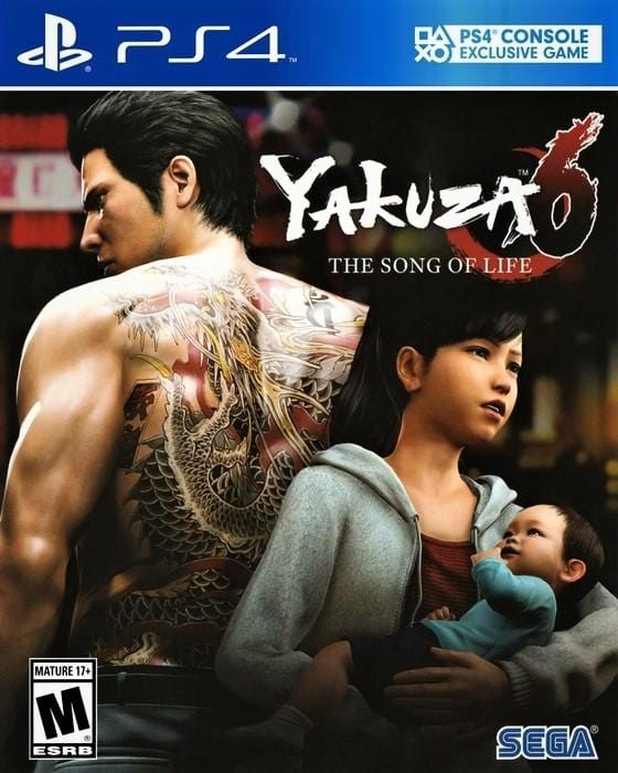 Yakuza 6 The Song of Life Sony PlayStation 4 - Gandorion Games