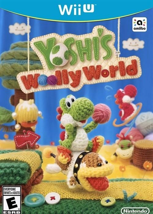 Yoshi's Woolly World Nintendo Wii U Game - Gandorion Games