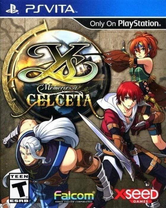 Ys Memories of Celceta Sony PlayStation Vita - Gandorion Games