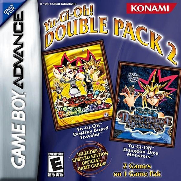 Yu-Gi-Oh! Double Pack 2 Nintendo Game Boy Advance - Gandorion Games
