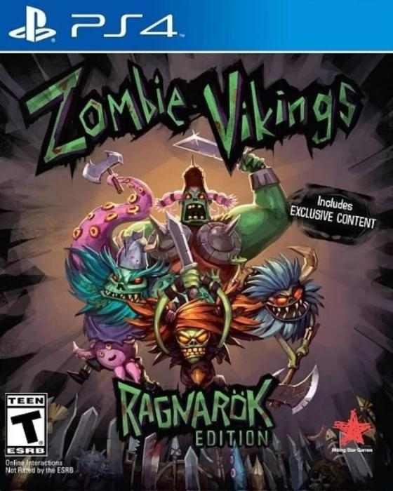 Zombie Vikings Sony PlayStation 4 - Gandorion Games