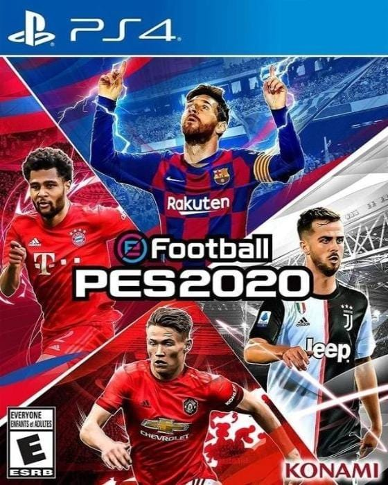 eFootball PES 2020 Sony PlayStation 4 - Gandorion Games