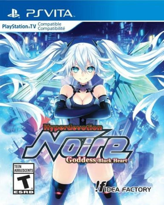 Hyperdevotion Noire: Goddess Black Heart Sony PlayStation Vita - Gandorion Games