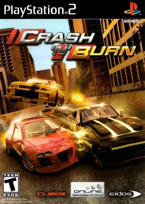 Crash 'N' Burn PlayStation 2 Game