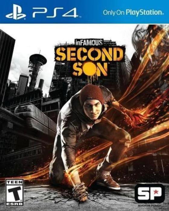 INFamous Second Son Sony PlayStation 4 - Gandorion Games