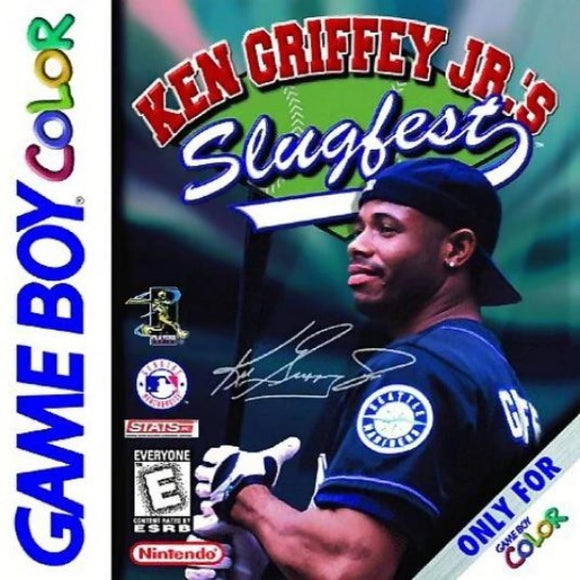 Ken Griffey Jr.'s Slugfest Nintendo Game Boy Color - Gandorion Games