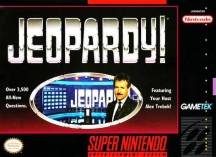 Jeopardy Super Nintendo SNES - Gandorion Games