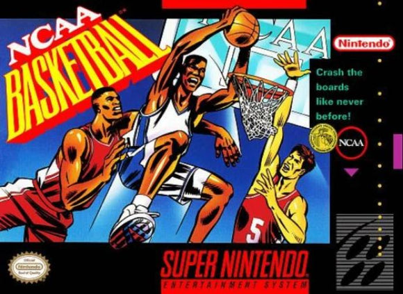 NCAA Basketball Super Nintendo SNES - Gandorion Games