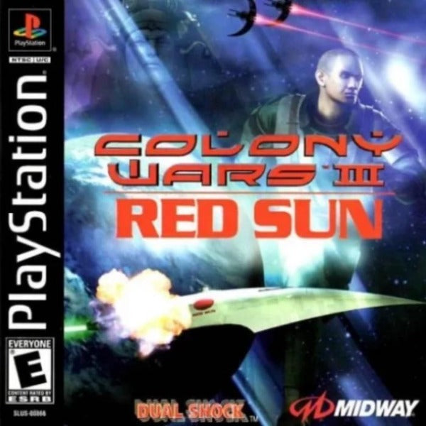 Colony Wars III Red Sun PlayStation 1 - Gandorion Games