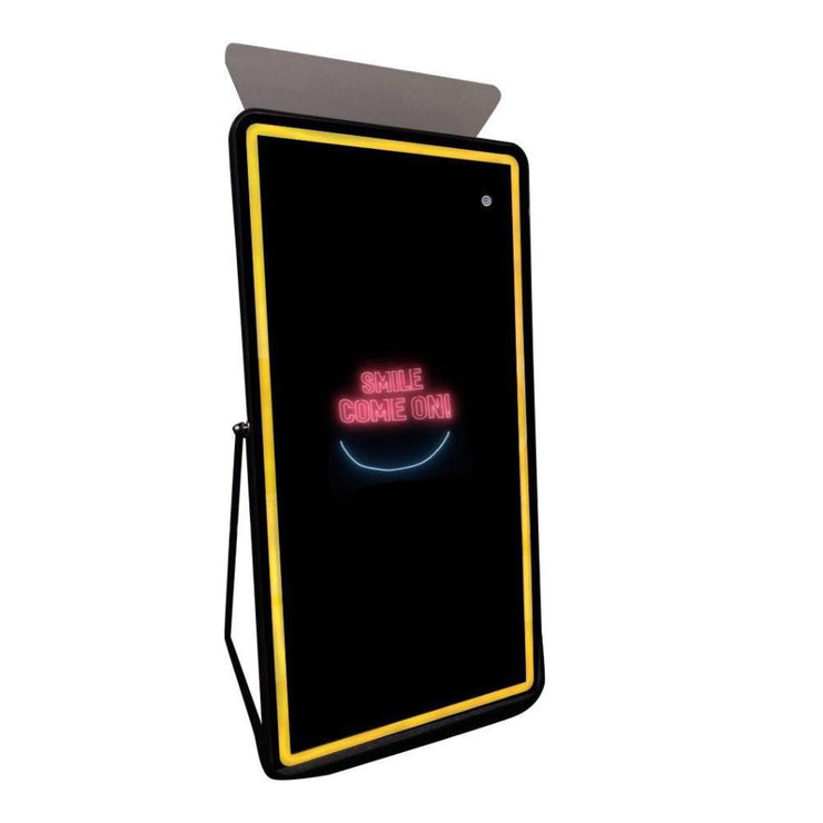 PMB-700 EDGE MIRROR BOOTH PREMIUM PACKAGE | SpinPix360