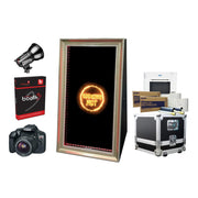 PMB-400 FOLDABLE MIRROR BOOTH PREMIUM PACKAGE | SpinPix360