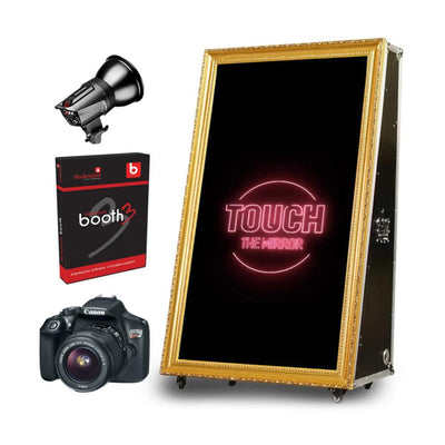 PMB-100 ROAD CASE MIRROR BOOTH STARTER PACKAGE | SpinPix360