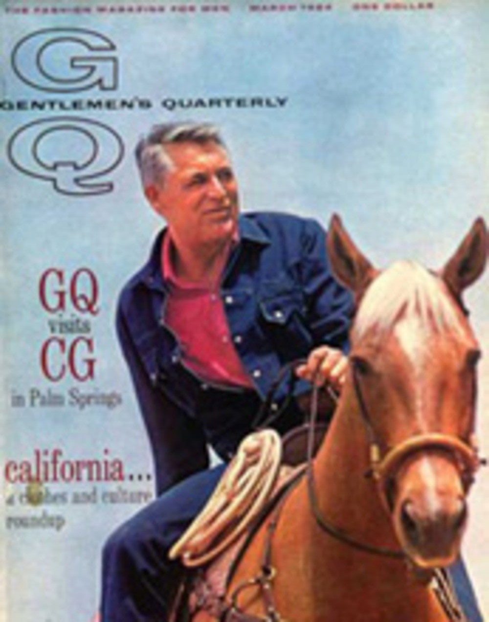 gq, march 1964: mr. cary grant. 1