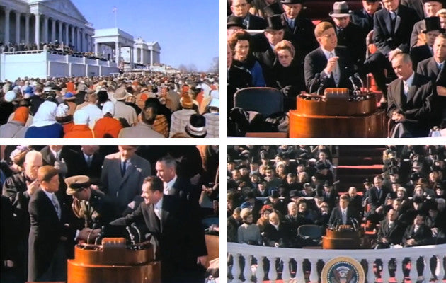john f. kennedy inaugural address. 1